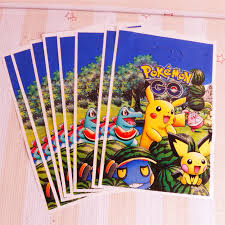 where to buy gift bags 50pcs lot of new clever pikachu plastic gift bags for