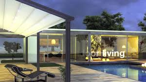 Pergola System by Outdoor Sun Protection Pergola Roof System Youtube