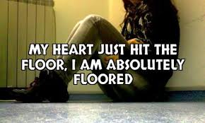 Hit The Floor Names - my heart hit the floor broken heart photo quotes