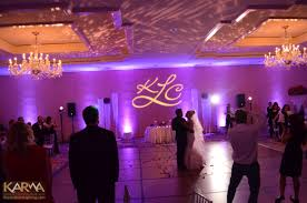 wedding backdrop monogram karma event lighting for weddings and special events