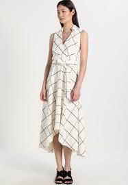 maxi kjoler millen fluid checked maxikjoler white dame kjoler d