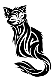 image wonderful tribal cat design 1 png jam