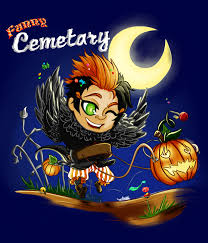 happy halloween funny picture happy halloween funny cemetary by eyecrow on deviantart