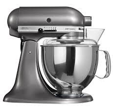 de kitchenaid artisan mixer metallic grijs in de aanbieding