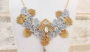 lace necklace pattern images Heard of needle lace necklace pattern here 39 s why they are so trendy jpg