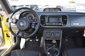 volkswagen beetle convertible interior 2014 volkswagen beetle gsr turbo review rnr automotive blog