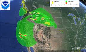 Pacific Northwest Map U S Air Quality Fires Continue In California And Pacific