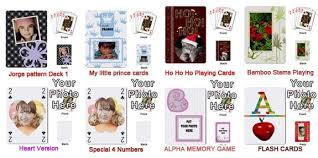 only 99 cents for personalized playing cards u2013 no shipping fees