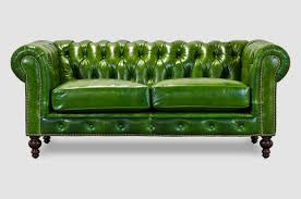 green leather chesterfield sofa surprising small leather chesterfield sofa tags cheap