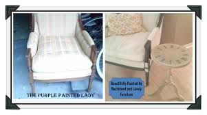 How To Repaint Furniture by Using Chalk Paint To Paint Your Couch Or Wing Back Chair The