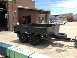 offroad trailer 9x7 tandem flat top off road manufacturer u beaut trailers