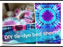 Tie Dye Bed Set How To Diy Tie Dye Bed Sheets Pillowcases