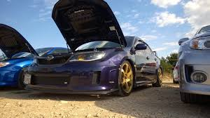 blue subaru gold rims that good old subaru burble part 2
