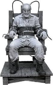 execution chaise electrique figurine de marv sur la chaise électrique chaise électrique la