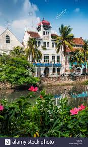 Dutch Colonial Architecture Dutch Colonial Architecture Buildings In Old Town Of Jakarta Stock