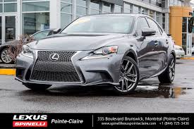 lexus ls a vendre used 2014 lexus is 350 awd f sport 2 nav cam leather for sale