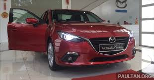 mazda sedan cars mazda 3 2 0 skyactiv sedan malaysia walk around paultan org
