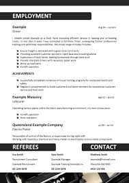 exle of a resume format sle driver resume sles free with regard to truck