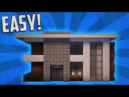 how to build a small modern house download video minecraft how to build a small modern house