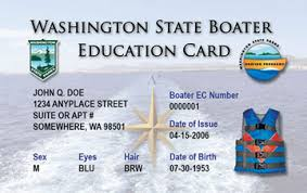 washington boater education cards certificates boat ed