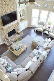 2 Sofas In Living Room by Cool Tone Spring Ready Living Room Tour Elegant Living Room