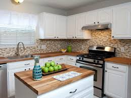 Backsplash With White Kitchen Cabinets Grey Brown Backsplash White Kitchen With Tile Backsplash Tin