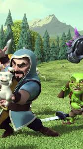 clash of clans wallpaper background clash of clans wizard interest iphone 6 6s hd wallpaper