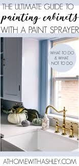 how to paint kitchen cabinets sprayer how to paint kitchen cabinets with a paint sprayer at home