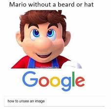Google Memes - dopl3r com memes mario without a beard or hat g polarsaurusrex
