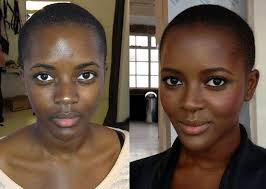 airbrush makeup for black skin 54 best before and after images on airbrush makeup