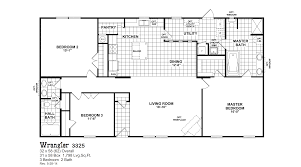 Bonanza House Floor Plan by Oak Creek Mobile Homes Floor Plans Floor Decoration