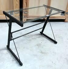 bureau largeur 50 cm bureau largeur 50 cm petit bureau en acier laque noir et plateau