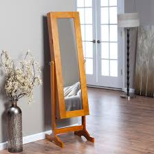 furniture antique full length mirror jewelry armoire with floor