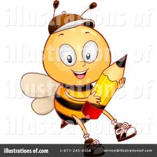 bee clipart 1070968 illustration by bnp design studio