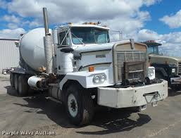 kenworth concrete truck 1988 kenworth 6500a ready mix truck item db0905 sold ma