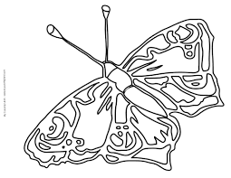impressive free butterfly coloring pages nice 4264 unknown