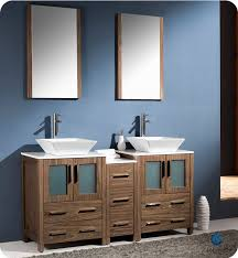 Bathroom Vanity With Side Cabinet Gym Equipment Fresca Torino 60