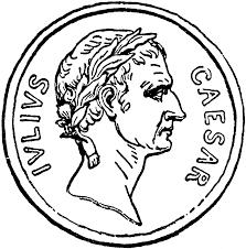 caesar coin clipart etc