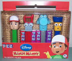 handy manny pez gift 4 pez dispensers 10 00