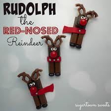 sugartown sweets rudolph the red nosed reindeer candy treats