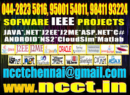 ieee final year project topics ncct www ncct in 044 28235816