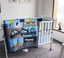 Teal Crib Bedding Sets Cars Crib Bedding Ebay