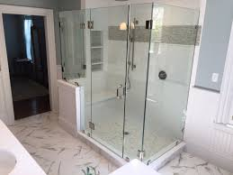 glass panel shower door glass shower doors and enclosures glass tub enclosures