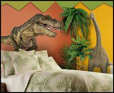 sunday style over the top bedrooms themed rooms dinosaur