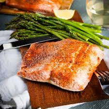 Bake Salmon In Toaster Oven Cedar Plank Salmon In The Oven Home Sweet Jones