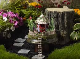 fairy garden project fairy house pedestal project plaid online