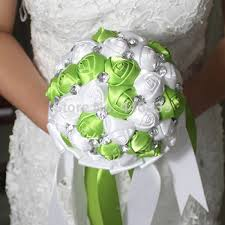 how to make wedding bouquets silk wedding bouquets colors diy custom artificial