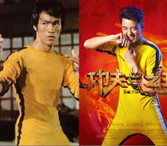 bruce yellow jumpsuit bruce of costume kung fu yellow jumpsuit