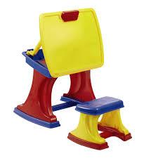 Plastic Stool Kids U0027 Desk With Easel U0026 Stool Christmas Tree Shops Andthat