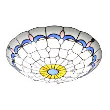 stained glass shade modern ceiling lighting for bathroom